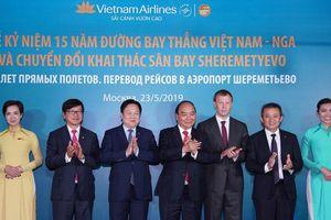 Thủ tướng giao Vietnam Airlines là 'cầu hàng không' nối Việt - Nga