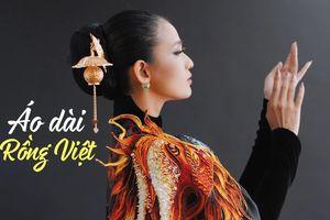 Cận cảnh quá trình làm ra chiếc áo dài Rồng Việt giúp Trương Thị May tỏa sáng tại Cannes