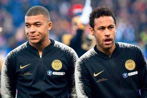 Neymar và Mbappe làm loạn để chạy khỏi PSG