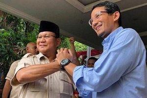 Bầu cử Indonesia: Cặp ứng cử viên Prabowo-Sandiaga nộp đơn kiện