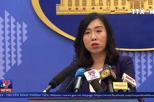 Người phát ngôn Bộ Ngoại giao lên tiếng vụ tàu Trung Quốc cào nghêu phá hoại môi trường Biển Đông