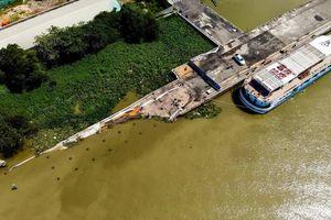 Khắc phục sự cố sập cầu tàu cảng Ba Son hơn 130 tuổi