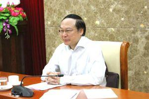 Thứ trưởng Lê Công Thành: Rà soát lại những điểm thiên tai nghiêm trọng cần cấp báo động lũ