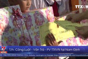 Nam Định trao 200 suất quà cho trẻ em nghèo
