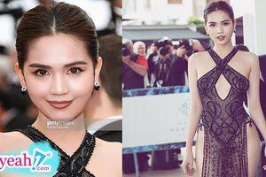 Chiếc đầm 'thị phi' của Ngọc Trinh bất ngờ lọt top 15 trang phục đẹp nhất Cannes 2019