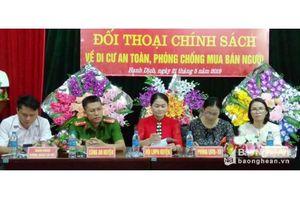 Nghệ An: Tuyên truyền về phòng chống mua bán người