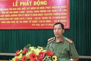 Công an tỉnh Đắk Nông phát động phong trào thi đua đặc biệt