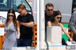 Leonardo DiCaprio và bạn gái xinh đẹp vui vẻ dạo chơi trên du thuyền