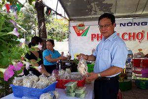 Hội chợ nông sản: Kết nối cung- cầu sản phẩm nông nghiệp nhà nông