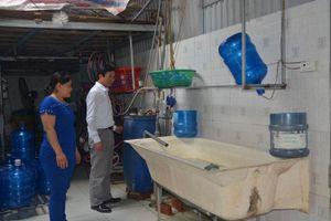 Quản lý chặt chẽ chất lượng nước đóng chai