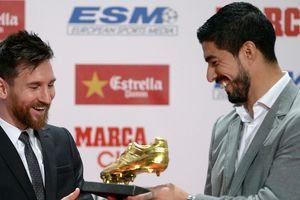 Messi lập kỷ lục với Chiếc giày vàng châu Âu thứ sáu