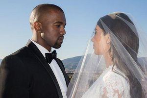 Vợ chồng Kim Kardashian tung ảnh kỷ niệm 5 năm ngày cưới