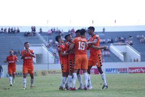 Đà Nẵng chặn chuỗi 4 trận bất bại của HAGL