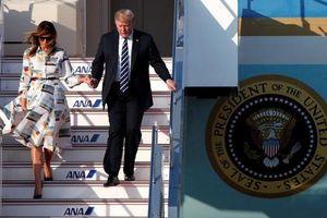 TT Donald Trump đã tới Nhật Bản