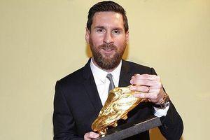Siêu sao Messi đoạt Chiếc giày vàng châu Âu thứ 6