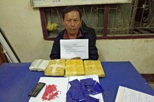 Đối tượng người Lào vận chuyển 18.000 viên ma túy tổng hợp vào Việt Nam