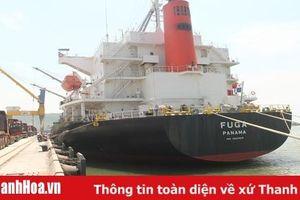 Đã có 3 chuyến tàu Container quốc tế cập Cảng Nghi Sơn
