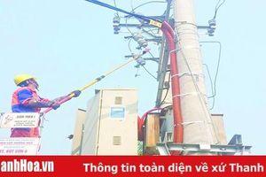 Điện lực Hoằng Hóa: Thực hiện các giải pháp bảo đảm cấp điện ổn định trong mùa nắng nóng