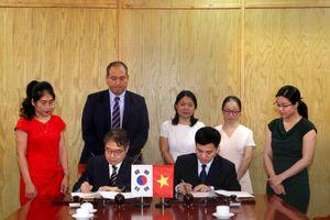 Lễ ký Biên bản ghi nhớ giữa Bộ Kế hoạch và Đầu tư Việt Nam và Bộ Kinh tế và Tài chính Hàn Quốc