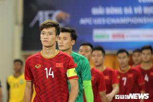 Đội phó U23 Việt Nam chấn thương, lỡ trận giao hữu U23 Myanmar