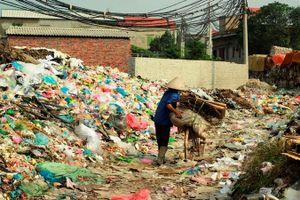 Xử lý rác thải làng nghề