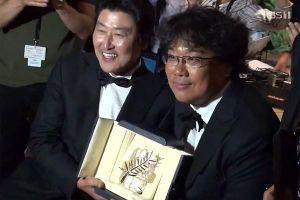Phim 'Ký sinh trùng' xuất sắc giành giải Cành cọ vàng