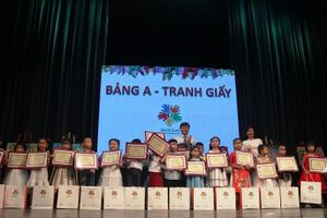 500 thí sinh nhận giải thưởng Nét Vẽ Xanh lần thứ 22