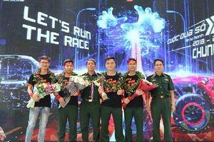 Học viện Kỹ thuật quân sự giành giải thưởng 1,2 tỉ đồng của 'Cuộc đua số' mùa 3