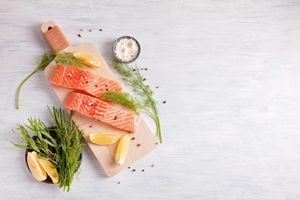 Cá hồi bổ dưỡng tuyệt vời