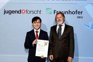 Hai học sinh gốc Việt giành giải Jugend forscht 2019 tại Đức
