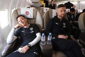 Arsenal rầm rập đổ bộ Baku đá chung kết Europa League