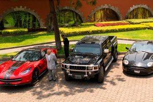 Đấu giá 82 xe hơi siêu sang của quan chức tham nhũng để chia tiền cho người nghèo