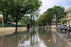 Móng Cái mưa lớn lịch sử: Đường phố chìm trong biển nước, một người bị lũ cuốn