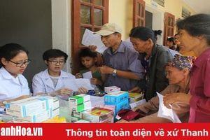 Khám chữa bệnh cho người có hoàn cảnh khó khăn tại xã Mậu Lâm (Như Thanh)