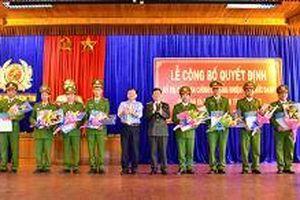 Kon Tum hoàn thành bố trí công an xã chính quy trên địa bàn tỉnh