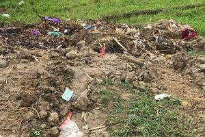 Hà Nội: Bà chủ cửa hàng bán sắt thép bị sát hại dã man, thi thể bị bỏ ngoài bãi rác