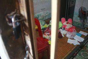 Cận cảnh bên trong căn phòng thai phụ 8 tháng tử vong cùng chồng con ở Bình Dương