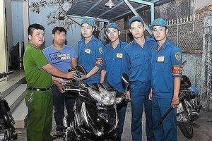 Công an quận 4 tìm chủ của 120 xe máy