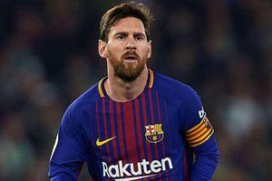 Messi cầm bóng nhiều hơn cả đội Valencia ở chung kết cúp nhà Vua