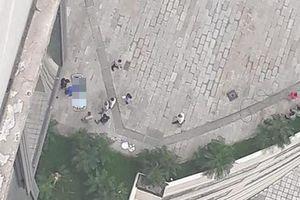 Tá hỏa phát hiện thi thể người đàn ông ở khu Trung tâm thương mại Mipec Long Biên