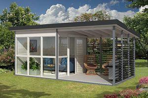 Độc đáo nhà tự lắp ráp giá 7.250 USD trên Amazon