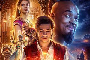 Aladdin vươn lên thống trị phòng vé Bắc Mỹ