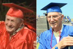 Hai cụ ông 95, 85 tuổi nhận bằng tốt nghiệp trung học tại Mỹ