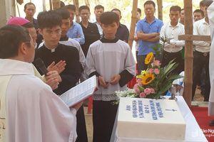 Khởi công xây dựng nhà thờ giáo họ ở Anh Sơn