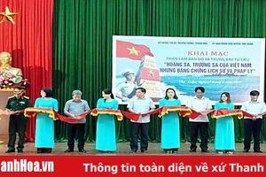 Triển lãm 'Hoàng Sa, Trường Sa - Những bằng chứng lịch sử pháp lý' tại huyện Thọ Xuân