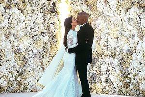 Kim Kardashian hạnh phúc khoe loạt ảnh kỷ niệm 5 năm ngày cưới