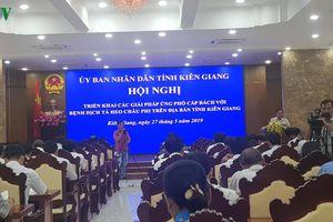 Kiên Giang giảm họp để tập trung phòng chống dịch tả lợn Châu Phi