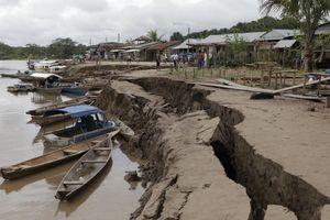 Động đất 8,0 độ richter rung chuyển miền Bắc Peru