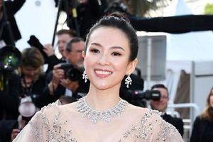 Chương Tử Di diện đầm xuyên thấu, đẹp lấn át dàn mỹ nữ ở bế mạc Cannes
