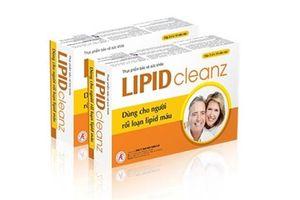 Công dụng của thực phẩm bảo vệ sức khỏe Lipidcleanz là gì?